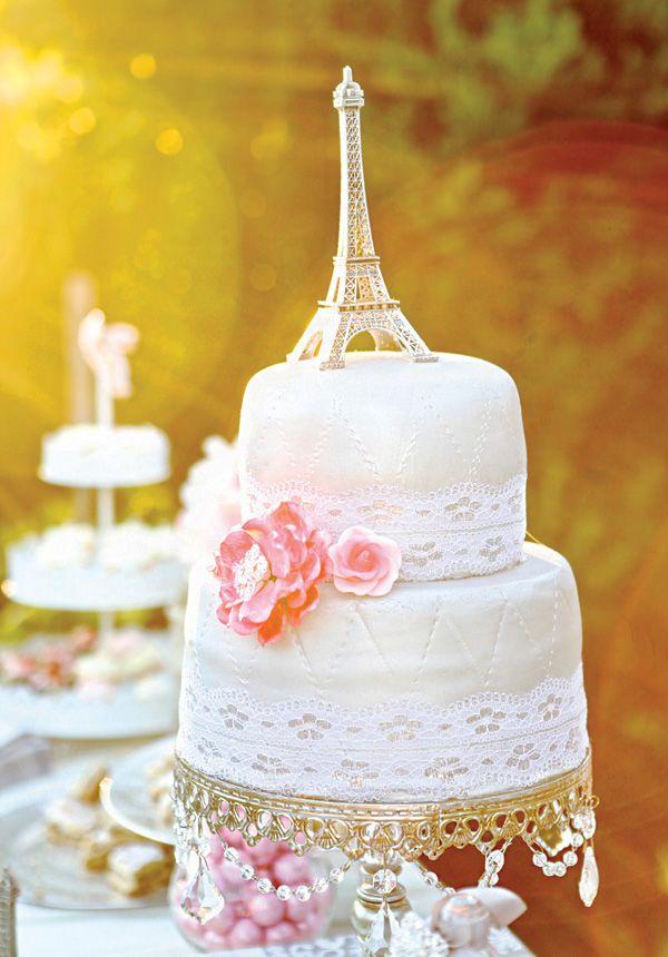 Romantic Parisian Cake