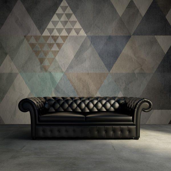 Hey,+look+at+this+wallpaper+from+Rebel+Walls,+Quadrangle,+blue!+#rebelwalls+#wallpaper+#wallmurals