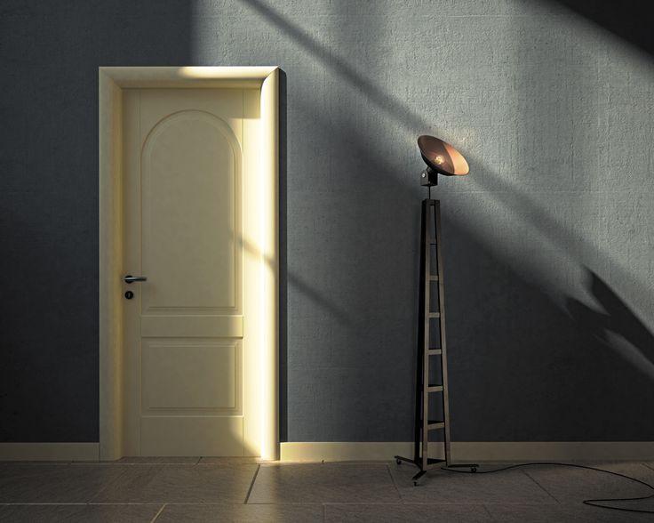 FBP porte | Collezione ALICE - Mod. Alice2T - Colore: laccata RAL 1013 #fbp #porte #legno #door #wood #classic