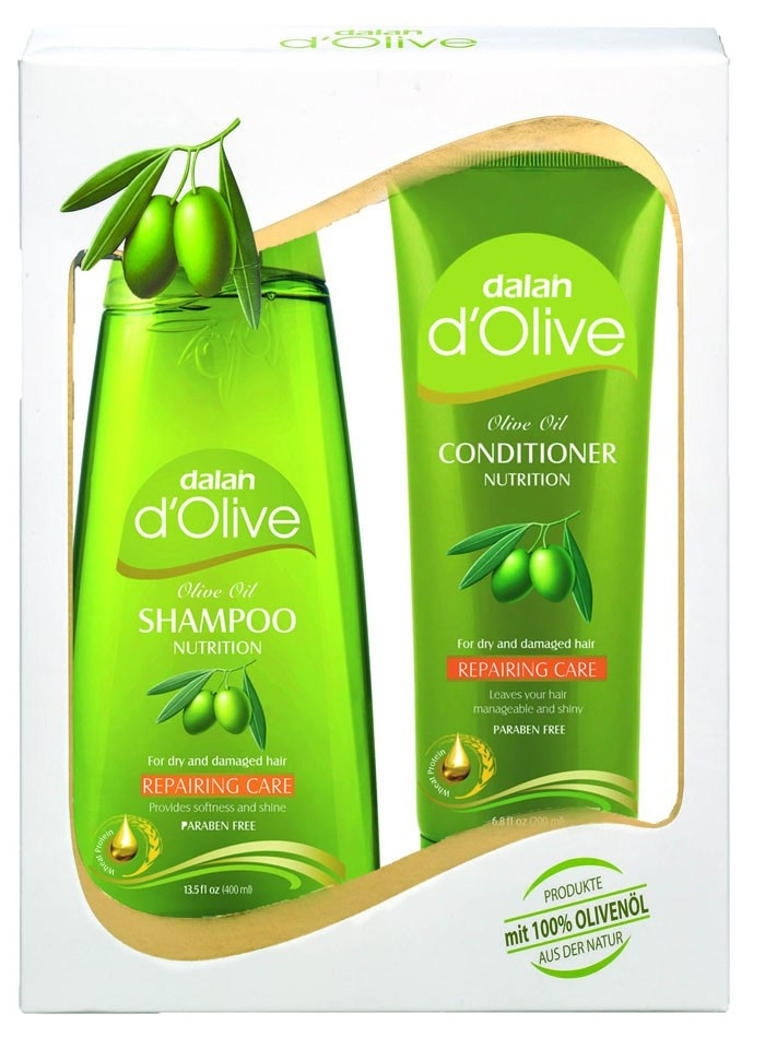 Natural Olive Oil Shampoo and Conditioner