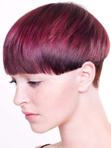 modern bowl haircut | short crops are everywhere from the red carpet to the catwalk ...