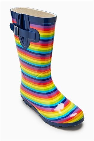 Buy Rainbow Stripe Wellies (Older Girls) from the Next UK online shop