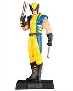 Marvel Figurines - Edição 02 - Wolverine | Loja Eaglemoss - Coleções