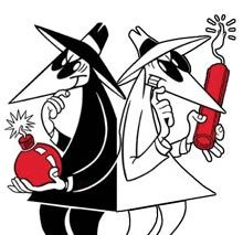 spy vs spy Jesse & I are gonna get one each so we can put them together !!!!!!!!