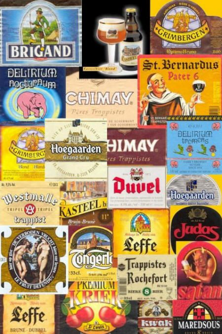 Belgian Beer... I need another board for these!!! :)