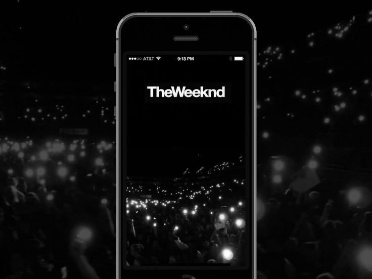 The Weeknd Preview Animation #UX #UI