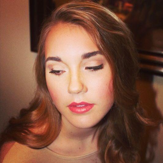 Senior portrait makeup and hair  facebook.com/MakeupAndHairByChaney