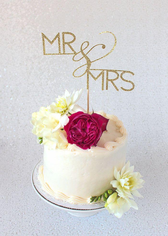 DIY Cake Topper Tutorial with Cricut   Diy cake topper ...