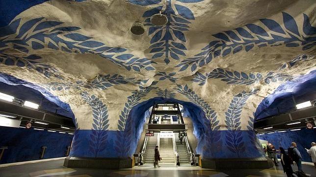 Estación de T-Centralen - Estocolmo