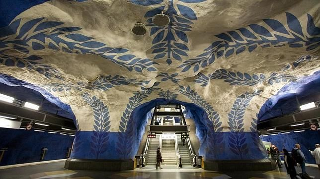 Estación de T-Centralen (Estocolmo, Suecia)