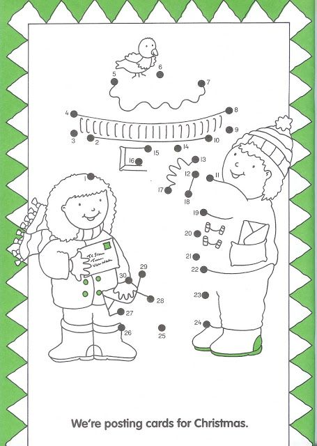 Vogelhuisje, dot to dot, free printable