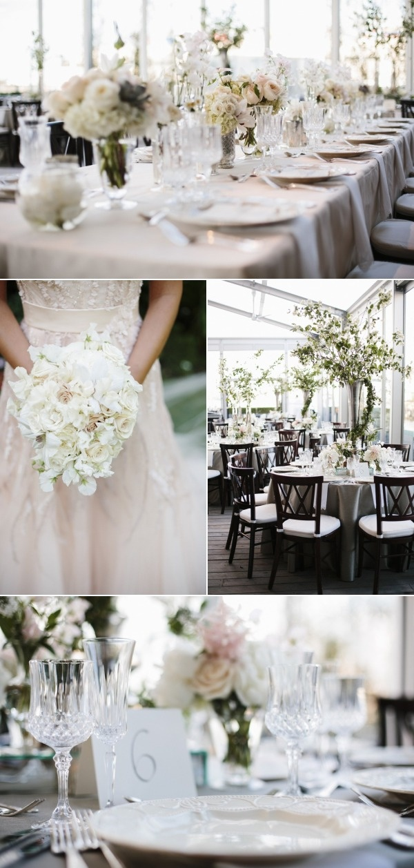 We're lucky to be catering partners at the Institute of Contemporary Art in Boston, where we were a part of this beautiful wedding. Via @Style Me Pretty #wedding #weddingwednesday