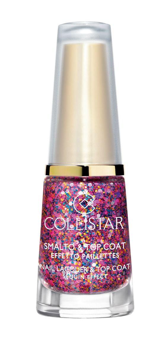 Smalto&Top Coat Effetto Paillettes n. 644 CORIANDOLI ROSSI#collistar #summer #estate #colors #colori #nails #unghie #smalti #makeup #rosso #red