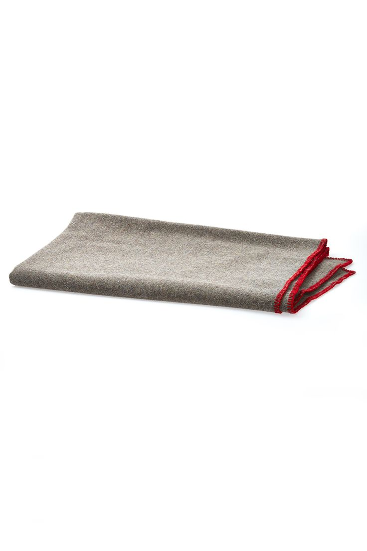 """A recycled wool blend gives the throw its unique, heathered gray appearance and texture. And, although Faribault is dedicated to natural and renewable materials, for this recycled throw they add a touch of recycled acrylic.    Approx. Measures:45"""" x 66"""".   Recycled Wool Throw by Faribault Woolen Mills. Home & Gifts - Home Decor - Pillows & Throws Oregon"""