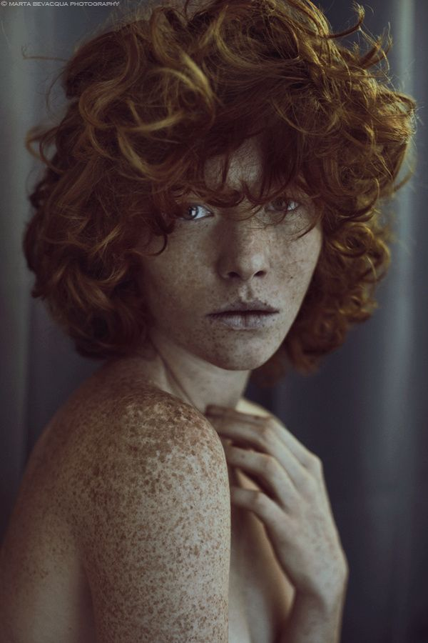 old portrait of Léonore by Marta Bevacqua on 500px
