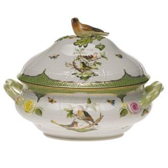 Another favourite china pattern - Herend Rothschild Bird Green