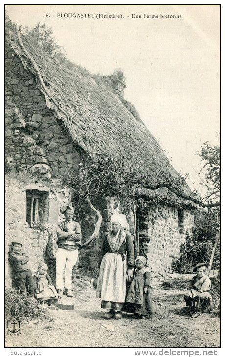 Vernacular house in Plougastel Peninsula Brittany