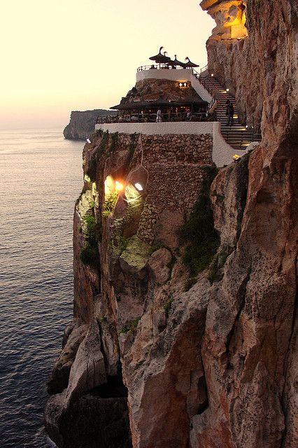 Discoteca Cova d`en Xoroi, Menorca, Spain
