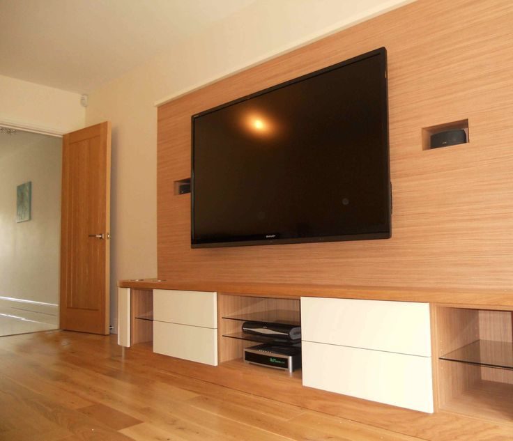 Good Looking Wood Wall Paneling Design With Wall Mounted