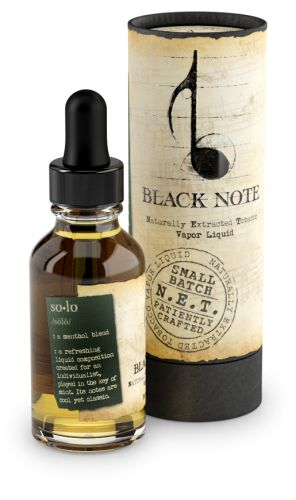 E-Liquid - Naturally Extracted Tobacco | Black Note