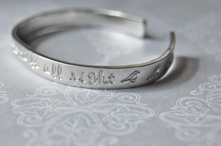 bob marley skinny bracelet cuff  3 little birds by LoreleiRose, $20.00 *I just got mine in mail this week, its so cute*