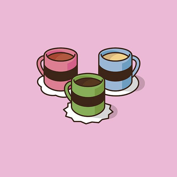 Your favourite cartoon characters recreated as coffee cups