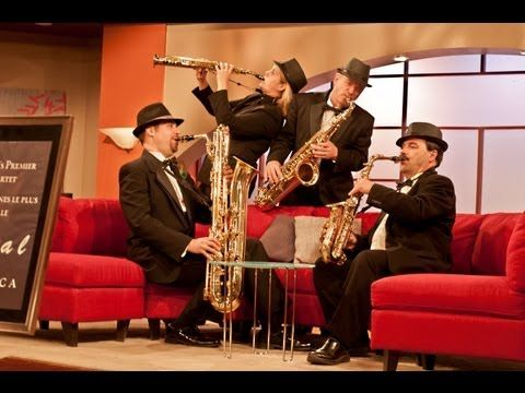 Sax Appeal Performing It's Only A Paper Moon (by Harold Arlen arr. Mike Wojciechowicz).  Recorded live (July 2, 2013) on Daytime Ottawa (Rogers Television - Channel 22).    Edited by Storyline Productions: http://storylineproductions.ca