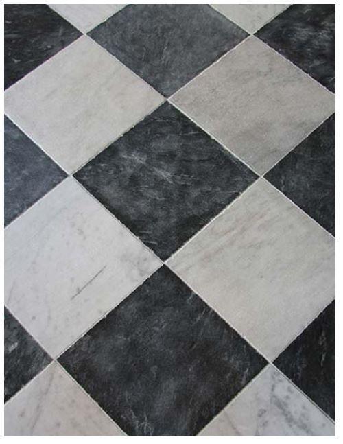 ES - Soho Black and White Marble