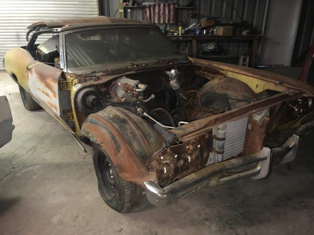 Skyparts? 1971 Buick Skylark GS Convertible #Projects #Buick, #Convertibles - https://barnfinds.com/skyparts-1971-buick-skylark-gs-convertible/