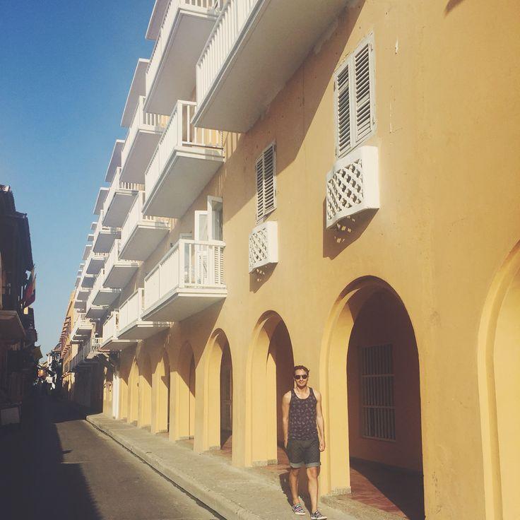 Sus calles coloniales.