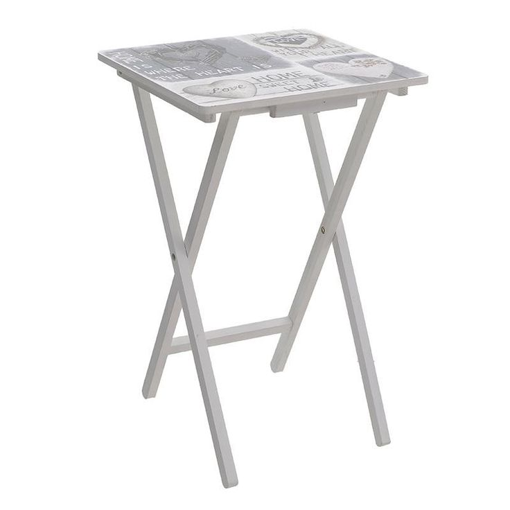 Folding Side Table - Coffee Tables - FURNITURE - inart