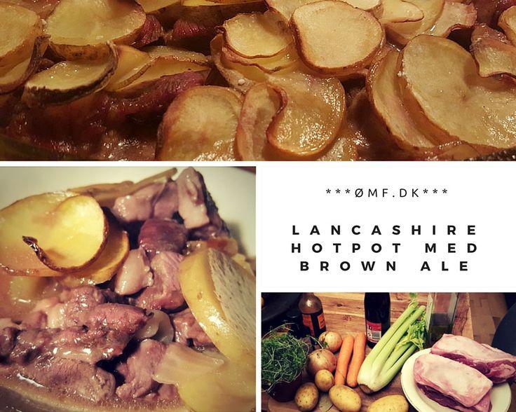 Dejlig vinterret - Lancashire Hotpot med Brown Ale