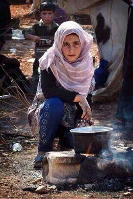 Atmah Refugee Camp...Syria #narenjtree