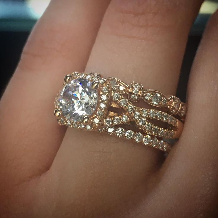 Engagement Ring Stacks With Wedding Bands Youll Drool Over