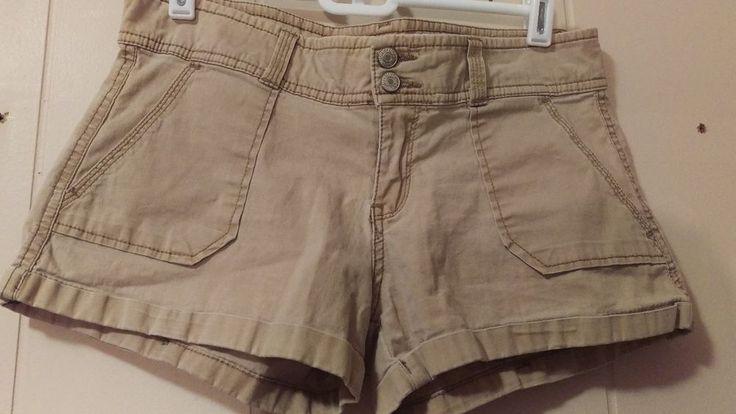 Aèropostale Khaki Cuffed Shorts Size 5/6 | Clothing, Shoes & Accessories, Women's Clothing, Shorts | eBay!