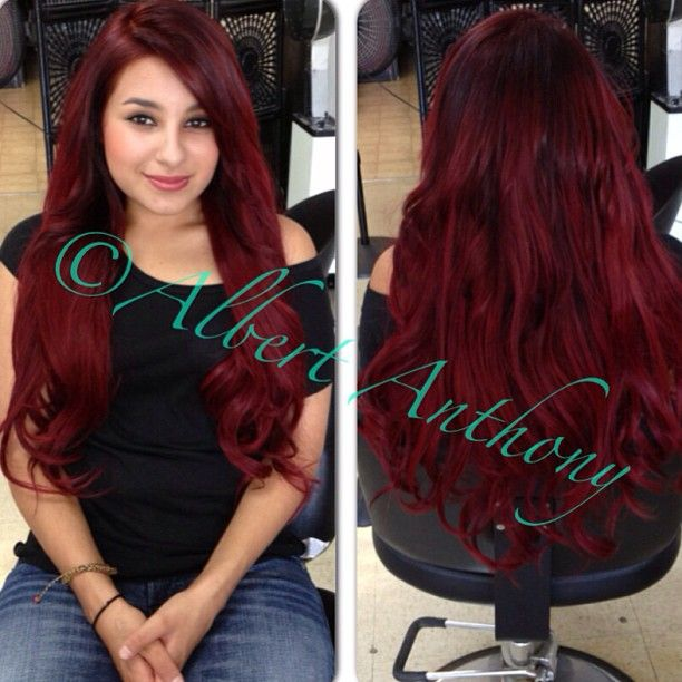 113 Best Dark Red Hair Images On Pinterest Hair Colors Hair Ideas
