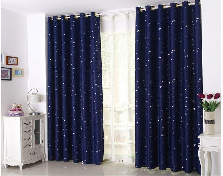 Las 25 mejores ideas sobre cortinas en azul marino en for Cortinas azules para salon