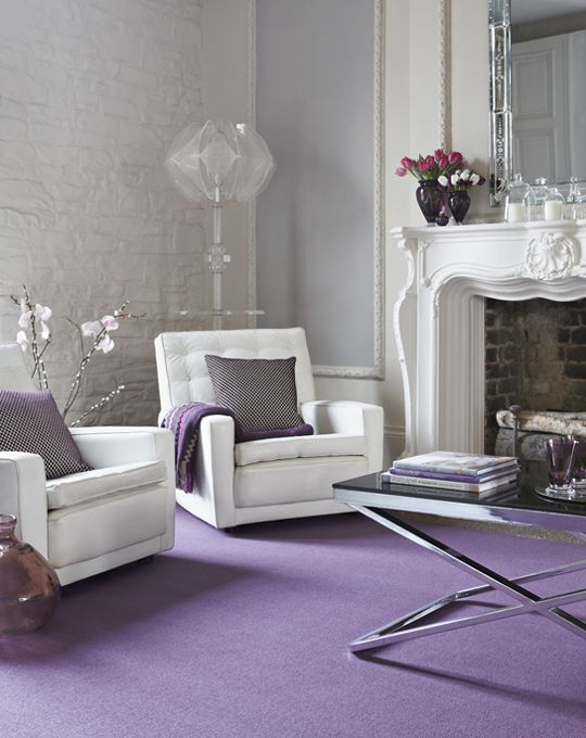 88 best perfectly purple images on pinterest violets Lilac living room ideas