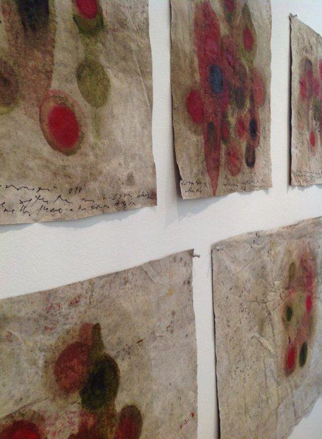 "Luca Caccioni shows his cosmic ""Drawings"" at Marco Rossi ..."