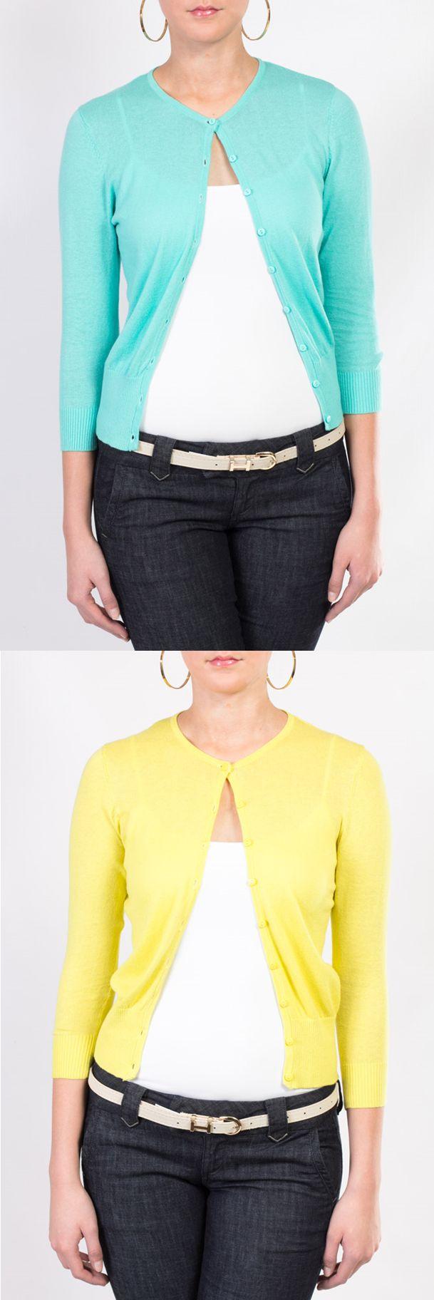 Te presentamos estos cómodos y lindos suéteres que puedes encontrar en colores verde menta, amarillo, blanco, negro, peach, coral, naranja y nude.