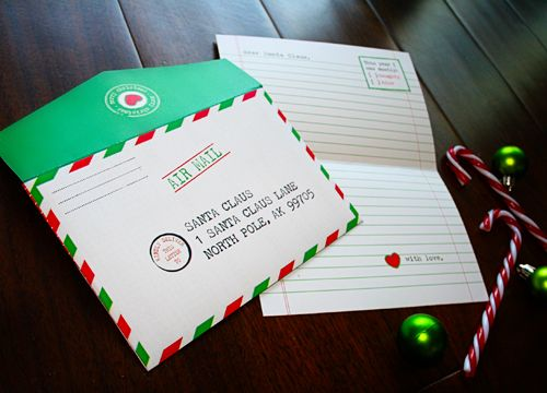 10 best Letters from Santa images on Pinterest Letter from santa - best of sample letter in envelope