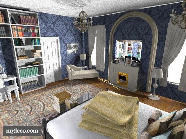 Gossip girl blair room bedroom vintage dream home for Blair waldorf bedroom ideas
