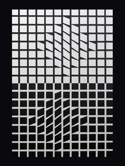 Victor Vasarely/black&white