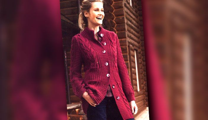 Теплое пальто | Loveknitting.ru