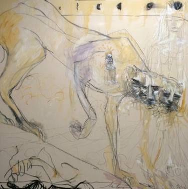 "Saatchi Art Artist Melora Walters; Painting, ""Slouching Towards Bethlehem"" #art"