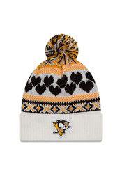 New Era Pitt Penguins White Winter Cutie Knit Hat