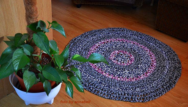 Pólóból szőnyeg