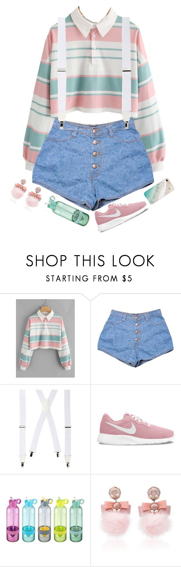 """""""Untitled #1134"""" by casssiaaa ❤ liked on Polyvore featuring Wembley, NIKE, Ranjana Khan and Gray Malin"""