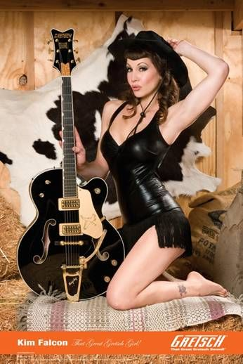 Another good reason to have a Gretsch guitar.
