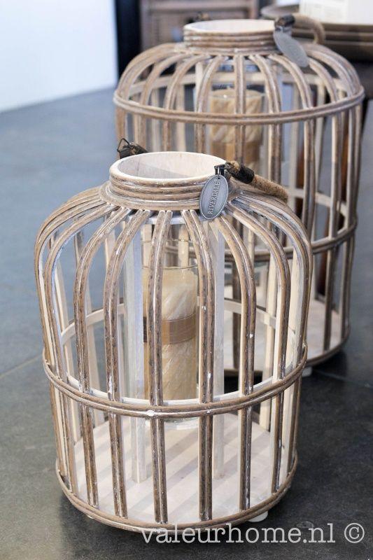 Riverdale Lantaarn Bamboo Naturel